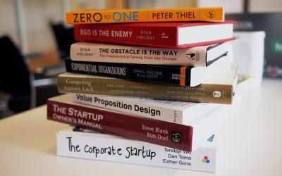 5 books to fight entrepreneurial mindset blocks.